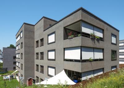 Überbauung Bachmättli, Hochdorf (Wormserputz)