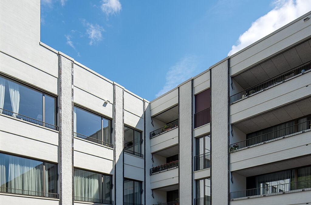 Überbauung Schweighofstrasse, Zürich, Kellenwurf / Feinabrieb und Längsabrieb